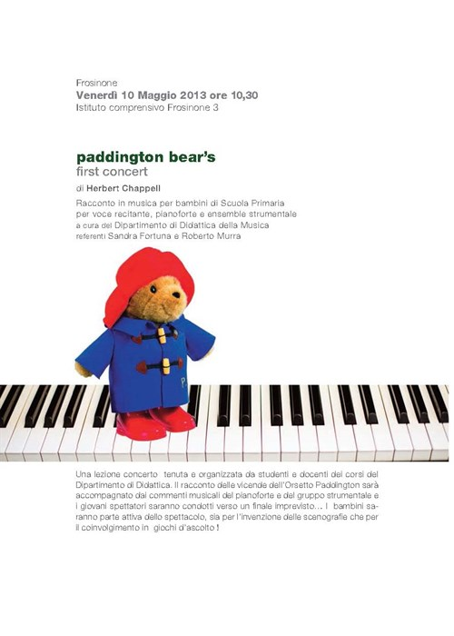 Paddington Bear's