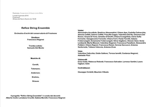 Refice String Ensemble 2
