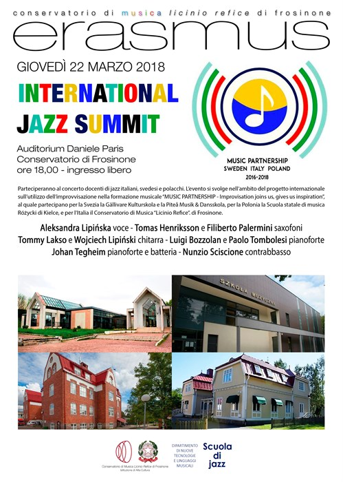 Erasmus International Jazz Summit
