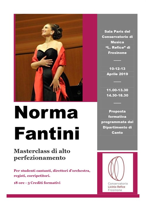 Norma Fantini Poster